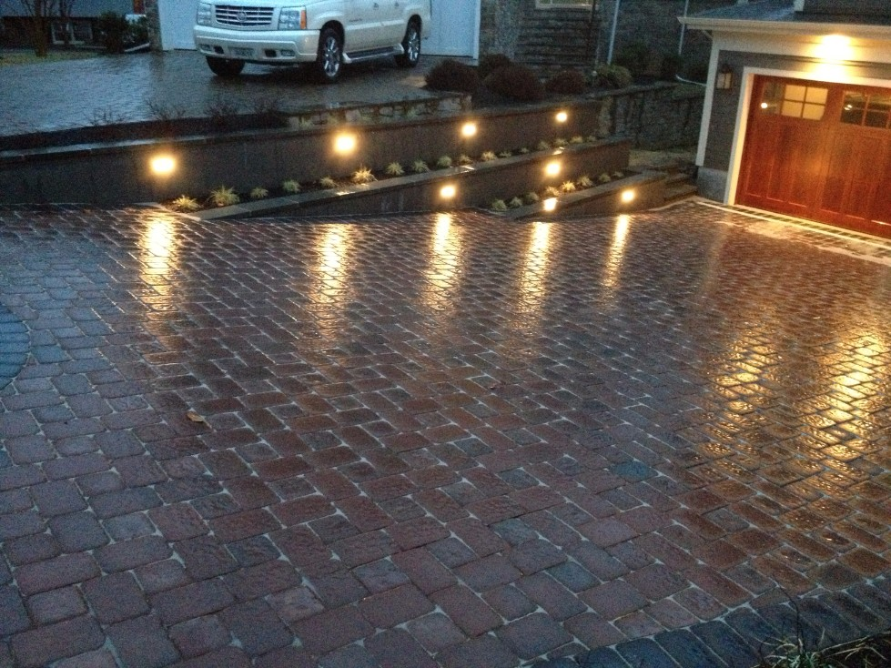 Custom Brick Paver Driveway