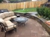 brick inlay patio