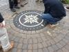 brick inlay compass