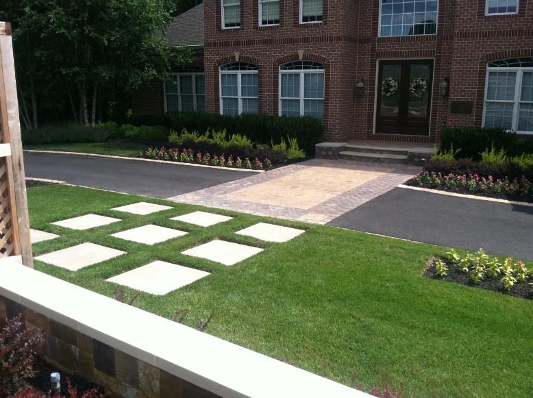 Front Yard Landscaping Design in Fairfax County, VA