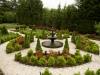 landscape design with hedges