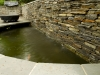 landscaping stone wall and water feature annapolis, md