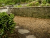 landscaping with path and wall annapolis, md