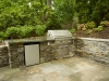 landscaping with outdoor cooking area annapolis, md