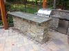 Outdoor Kitchen with Sit at Counter
