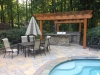 Outdoor Pool Patio, Kitchen & Pergola