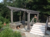 Custom Outdoor Kitchen and Pergola