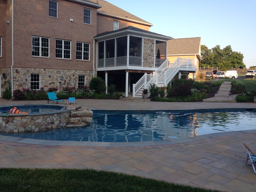 Custom Built Inground Pool
