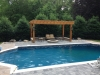Custom Pergola On Pool Patio