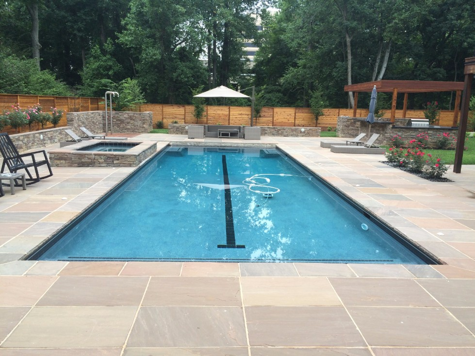 Pool Deck Design & Installation in Annapolis, MD ... on Pool Patios Ideas id=33575