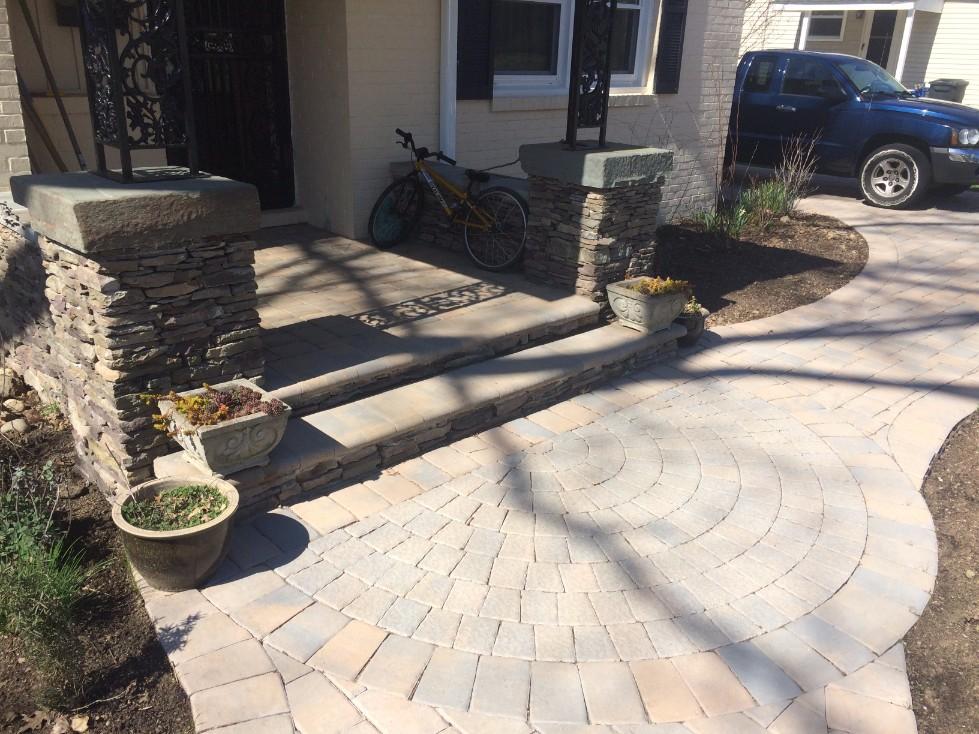 Stone Masonry & Brick Patios