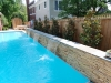 Stone Wall Pool Waterfalls