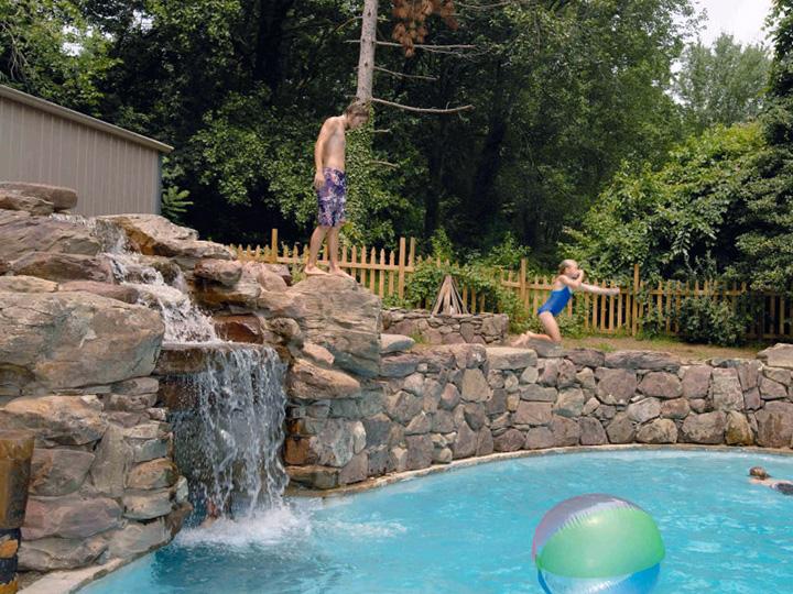 Patio Amp Pond Landscaping Design Annapolis Amp Baltimore Md