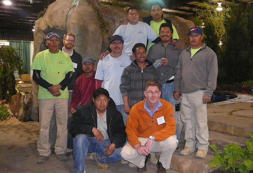 vistapro landscape and design team