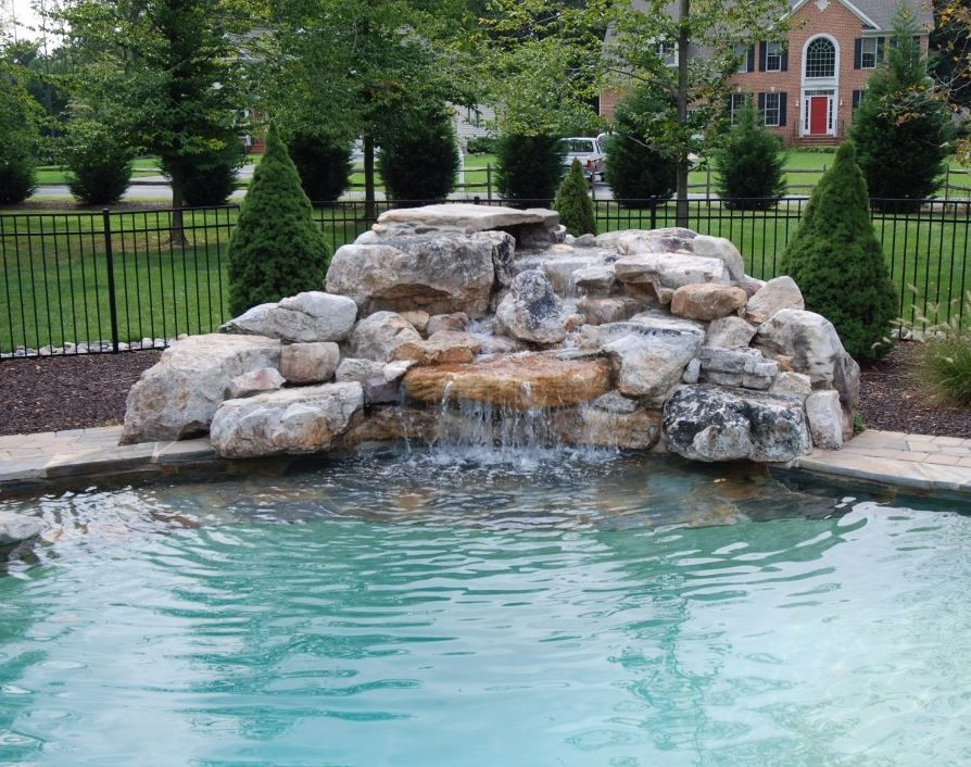 The Benefits Of Adding A Waterfall To Your Pool Vistapro Landscape Design
