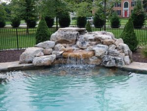 Adding a Waterfall to Your Pool