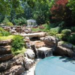 Waterfall Landscape Design and Installation in Annapolis, MD