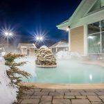 Backyard Spa Landscape Design in Annapolis, MD