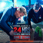 Gordon Ramsay and James Londot of VistaPro Landscape & Design Courtesy of 24 Hours to Hell and Back Facebook