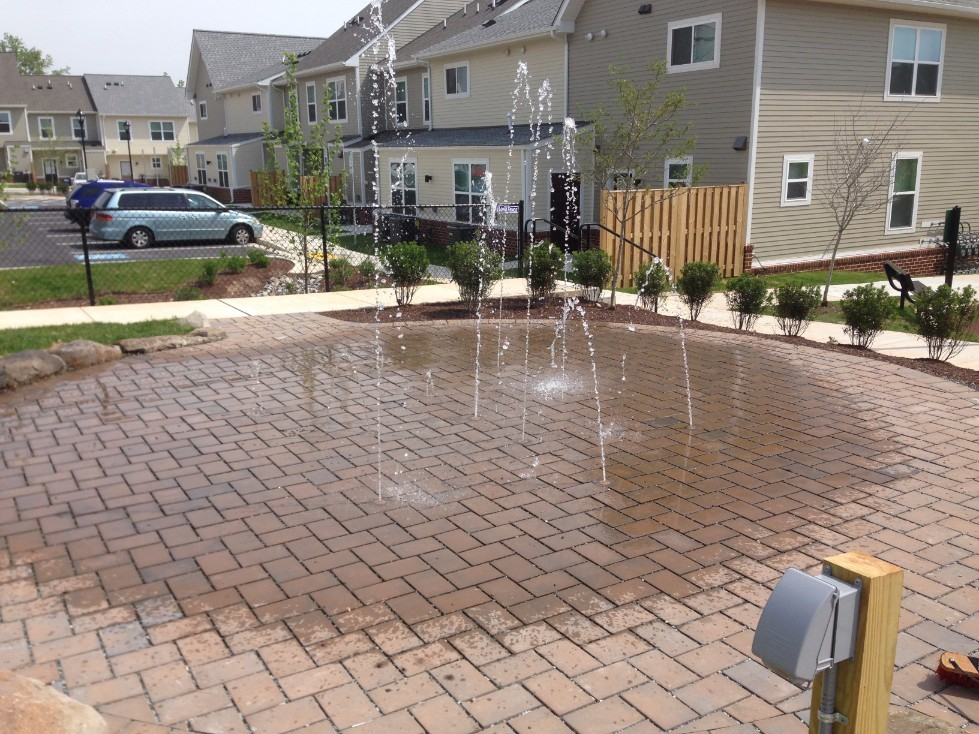 commercial splash pad